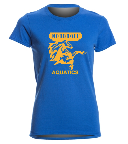 T-SHIRT - SwimOutlet Women's Cotton Missy Fit T-Shirt