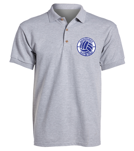 GRAY H20 POLO  - SwimOutlet Ultra Cotton Adult Men's Pique Sport Shirt
