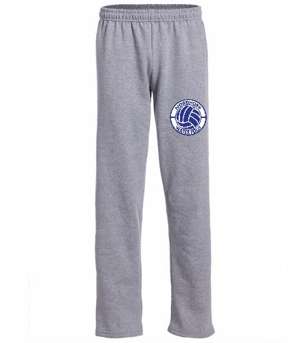 nhs gray sweats - SwimOutlet Heavy Blend Unisex Adult Open Bottom Sweatpants