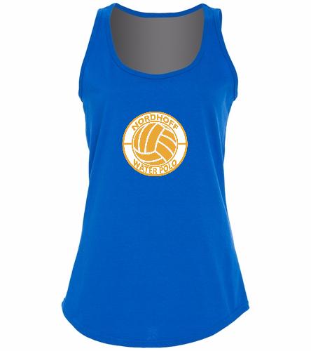 H20 POLO TANK - SwimOutlet Women's Cotton Racerback Tank Top