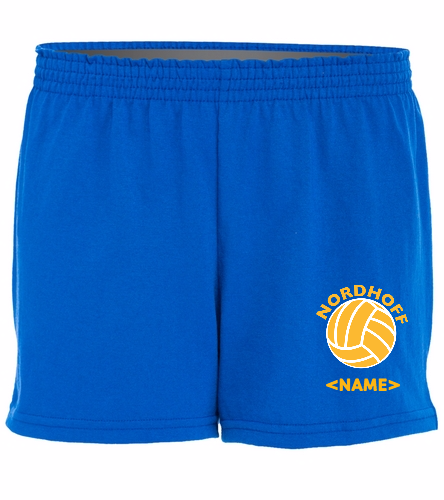 ROYAL SHORTS - SwimOutlet Custom Women's Fitted Jersey Short