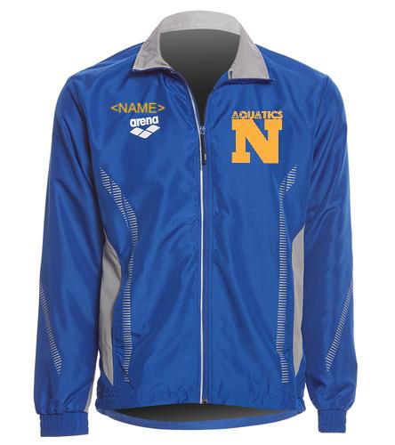 SwimTeam Jacket - Arena Unisex Team Line Ripstop Warm Up Jacket