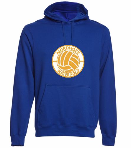 NAVY HOODIE H20 POLO - SwimOutlet Adult Fan Favorite Fleece Pullover Hooded Sweatshirt
