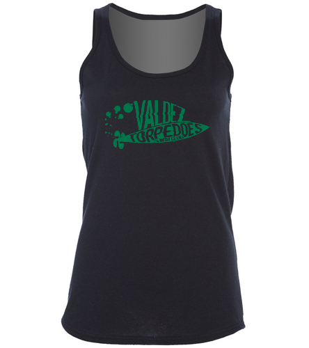 Valdez Torpedoes Womens Tank - SwimOutlet Women's Cotton Racerback Tank Top