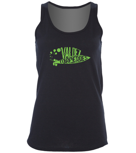 Women's VTSC Tank bright logo - SwimOutlet Women's Cotton Racerback Tank Top