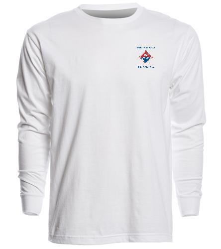 Walton Swim & Dive Heat Pressed Logo  - SwimOutlet Unisex Long Sleeve Crew/Cuff