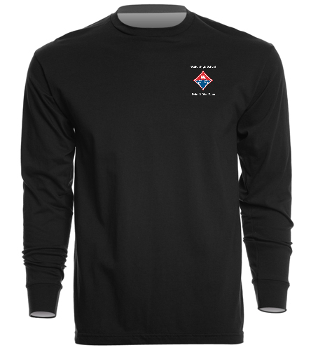 Walton Swim & Dive Heat Press Diamond Logo on - SwimOutlet Unisex Long Sleeve Crew/Cuff