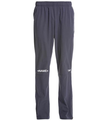 Official Walton Men's Tech Warm Up Pant w/ Athlete Name Embroidered - Speedo Men's Tech Warm Up Pant