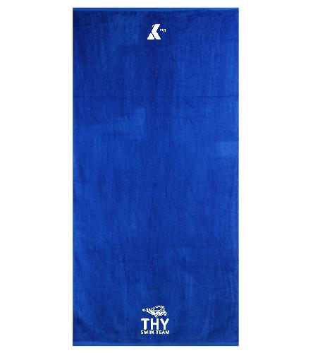 THY  - Royal Comfort Terry Velour Beach Towel 32 X 64