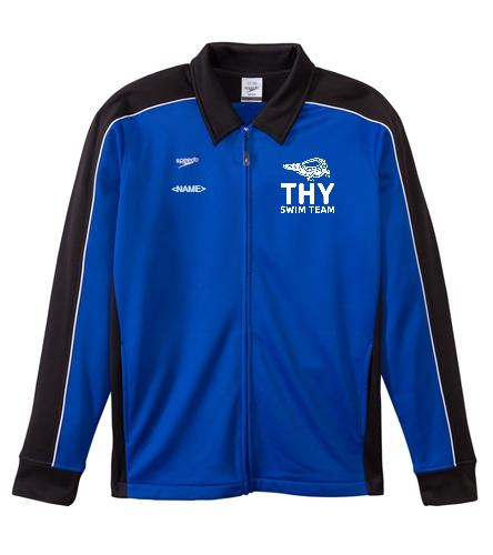 THY - Speedo Streamline Youth Warm Up Jacket