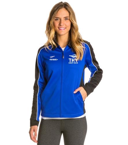 THY - Speedo Streamline Female Warm Up Jacket