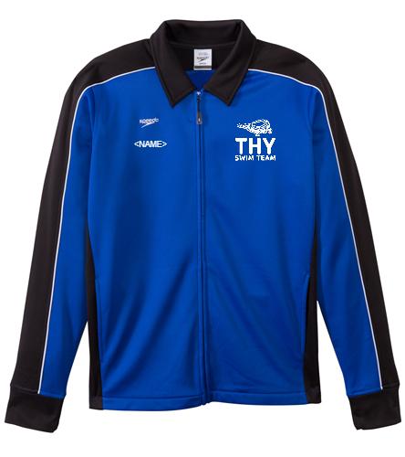 THY - Speedo Streamline Male Warm Up Jacket
