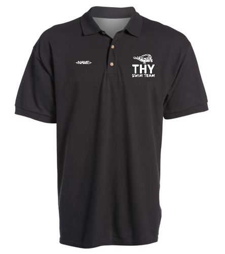 THY - SwimOutlet Ultra Cotton Adult Men's Pique Sport Shirt