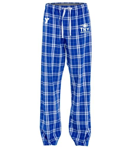 THY - SwimOutlet Unisex Flannel Plaid Pant