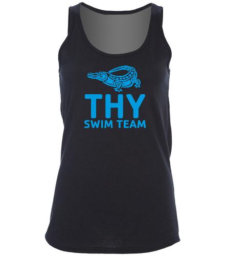 THY - SwimOutlet Women's Cotton Racerback Tank Top