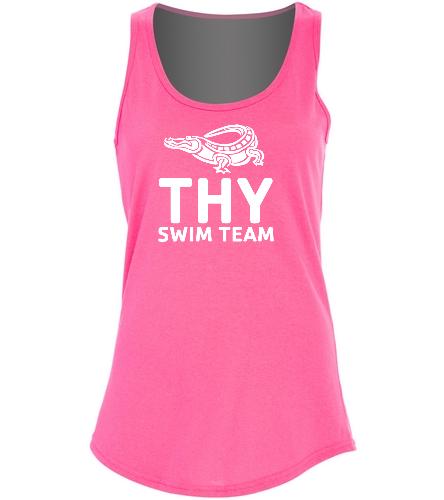 THY - SwimOutlet Women's Cotton Tank Top - Brights