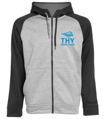 THY - Adidas Men's Team Issue Full Zip Fleece
