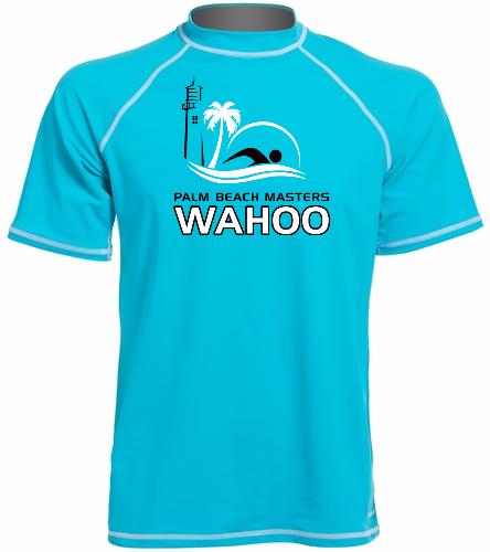 PBM AquaBlue - Sporti Men's S/S UPF 50+ Swim Shirt