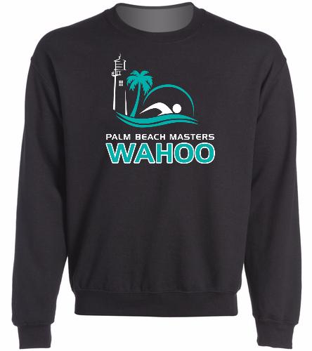 PBM Black - SwimOutlet Heavy Blend Unisex Adult Crewneck Sweatshirt