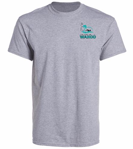 PBM Grey - SwimOutlet Unisex Cotton Crew Neck T-Shirt