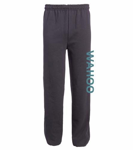 PBM - SwimOutlet Heavy Blend Unisex Adult Open Bottom Sweatpants