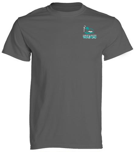 PBM Charcoal - SwimOutlet Cotton Unisex Short Sleeve T-Shirt
