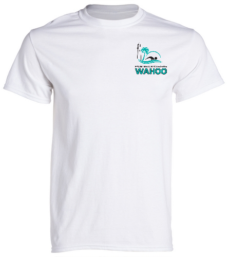 PBM White - SwimOutlet Cotton Unisex Short Sleeve T-Shirt