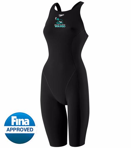 PBM - Speedo Women's Powerplus Kneeskin Tech Suit Swimsuit
