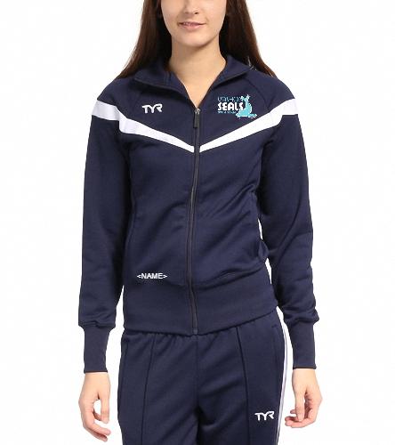 Vashon Seals - TYR Freestyle Female Warm Up Jacket