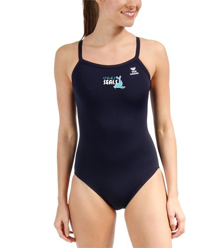 Vashon Seals - TYR Durafast Solid Diamondfit One Piece Swimsuit