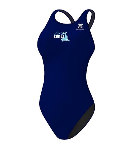 Vashon Seals - TYR Durafast Elite Solid Maxfit One Piece Swimsuit