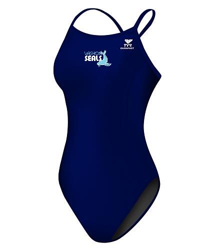 Vashon Seals - TYR Durafast Elite Solid Diamondfit One Piece Swimsuit