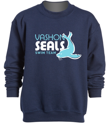Vashon Seals - SwimOutlet Heavy Blend Youth Crewneck Sweatshirt