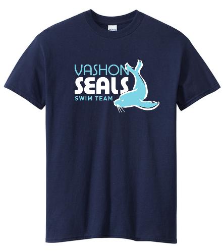 Vashon Seals - SwimOutlet Unisex Cotton Crew Neck T-Shirt