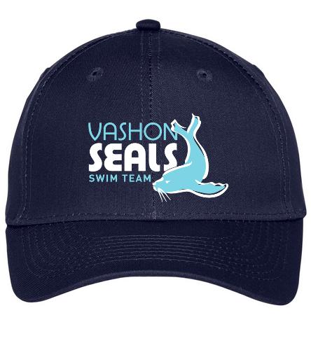 Vashon Seals - SwimOutlet Unisex Performance Twill Cap