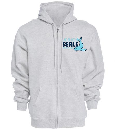 Vashon Seals - SwimOutlet Unisex Adult Full Zip Hoodie