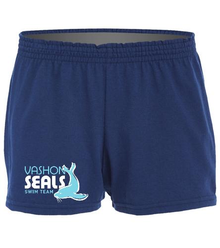 Vashon Seals  - SwimOutlet Custom Women's Fitted Jersey Short