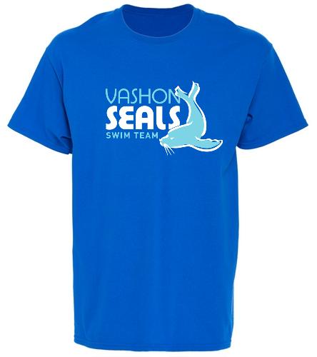 Vashon Seals - SwimOutlet Unisex Cotton T-Shirt - Brights
