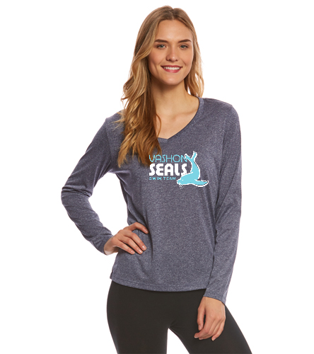Vashon Seals - SwimOutlet Women's Long Sleeve Tech T Shirt