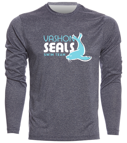 Vashon Seals  - SwimOutlet Men's Long Sleeve Tech T Shirt