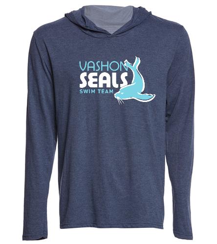 Vashon Seals - SwimOutlet Men's Perfect Long Sleeve Hoodie