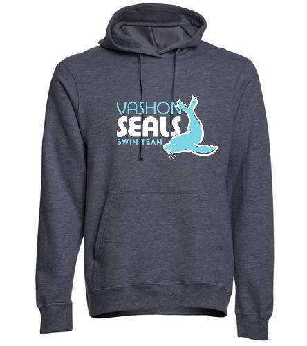 Vashon Seals - SwimOutlet Adult Fan Favorite Fleece Pullover Hooded Sweatshirt