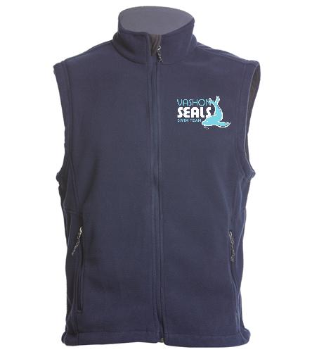 Vashon Seals - SwimOutlet Adult Men's Fleece Vest