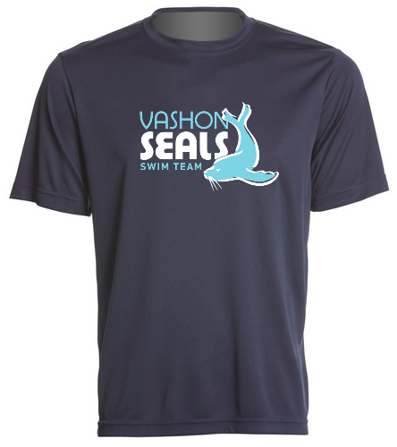Vashon Seals - SwimOutlet PosiCharge® Competitor™ Tee