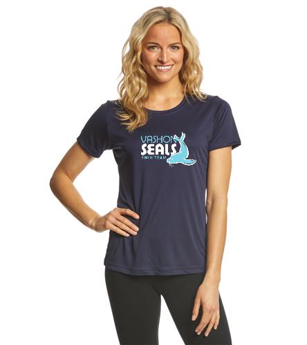 Vashon Seals - SwimOutlet Ladies PosiCharge® Competitor™ Tee