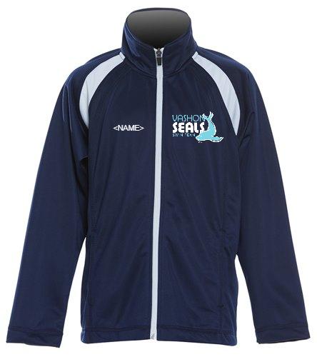 Vashon Seals - SwimOutlet Sport-Tek®Youth Tricot Track Jacket