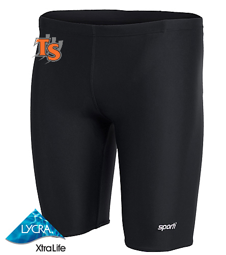 TigerSharks - Sporti Solid Compression Jammer Swimsuit
