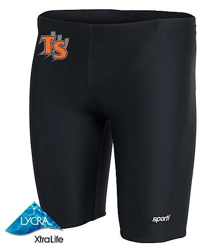 Customized  - Sporti Solid Compression Jammer Swimsuit