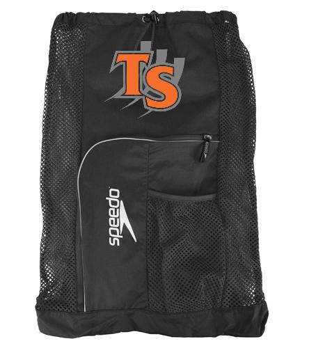 With Team Logo  - Speedo Deluxe Ventilator Mesh Bag
