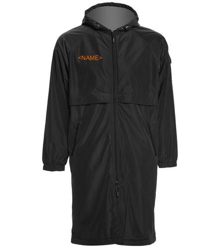 Customized Team Parka - Sporti Comfort Fleece-Lined Swim Parka